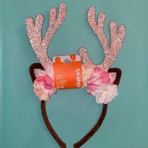 🍒BUNDLE SALE🍒NWT CLAIRE'S reindeer headband